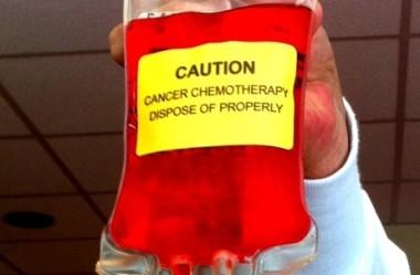 O meu segundo ciclo de quimioterapia vermelha
