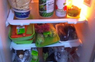 Minha geladeira e alimentação depois do Câncer