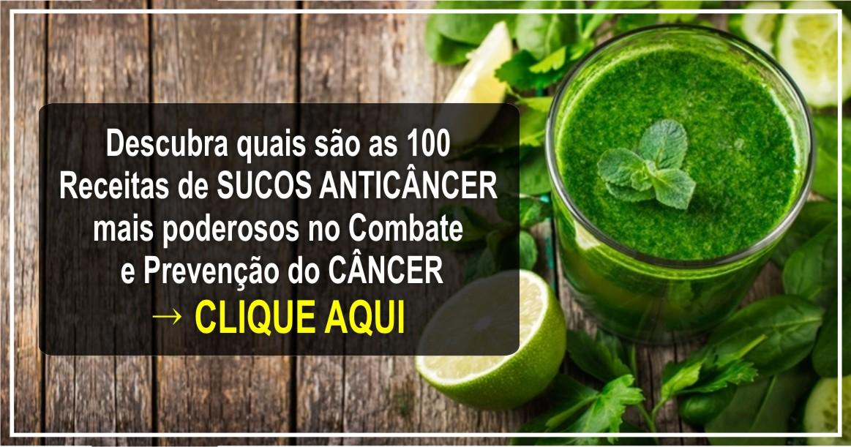 receita de sucos anti câncer