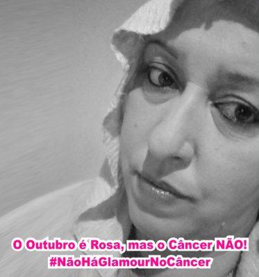 O outubro é rosa, mas o Câncer não - outubro rosa