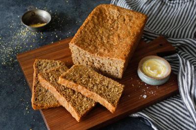 Receita de pão caseiro de Grão de bico
