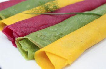 Minha Alimentação Anticâncer : Receita de Panqueca Funcional Colorida