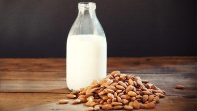 Coleção Minha Alimentação Anticâncer -leite de amendoas