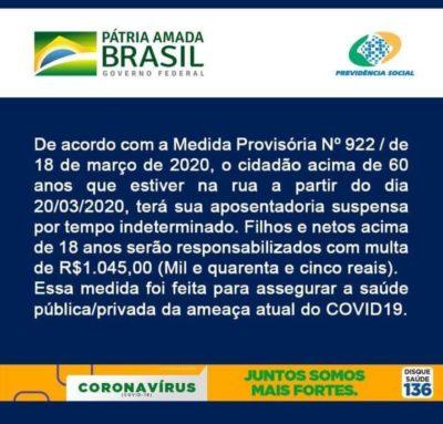 fake news do coronavírus